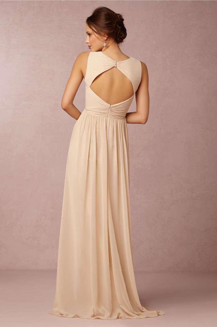 Eloise keyhole back bridesmaid dress