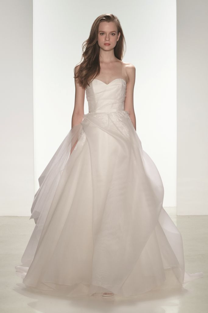 Wedding dresses by nouvelle amsale fall 2015 for Wedding dresses for bridesmaid