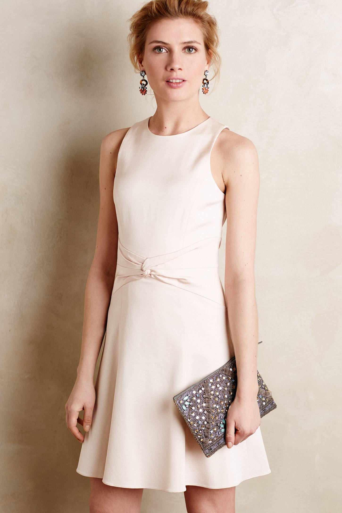 Knot waist dress from Anthropologie
