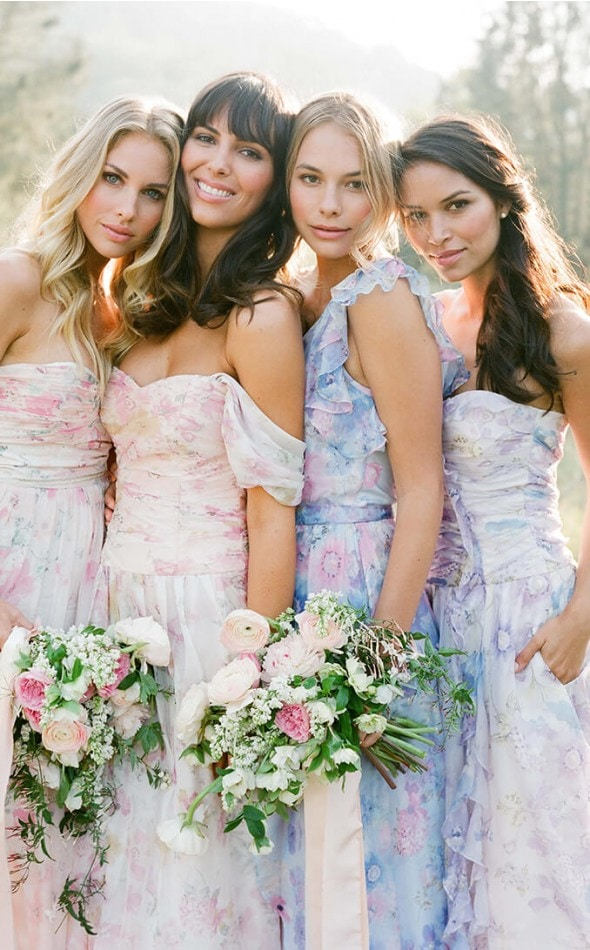 52fea1aeea179 Floral Dresses for Bridesmaids