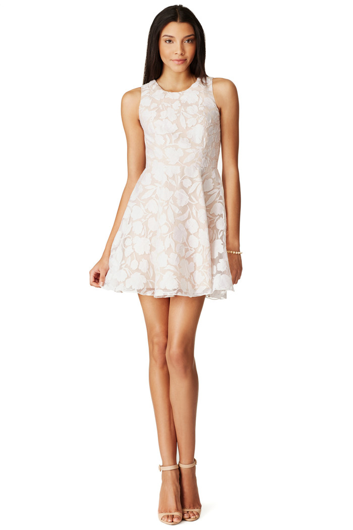 Bridal Shower Dress | White Lace from Rent the Runway