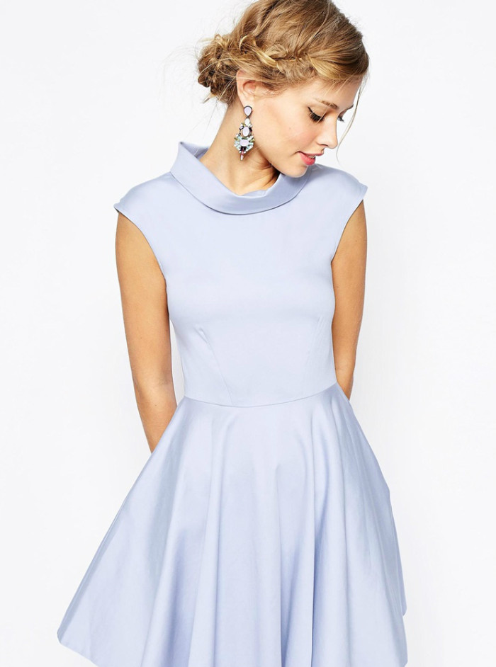 Cute blue dress for April