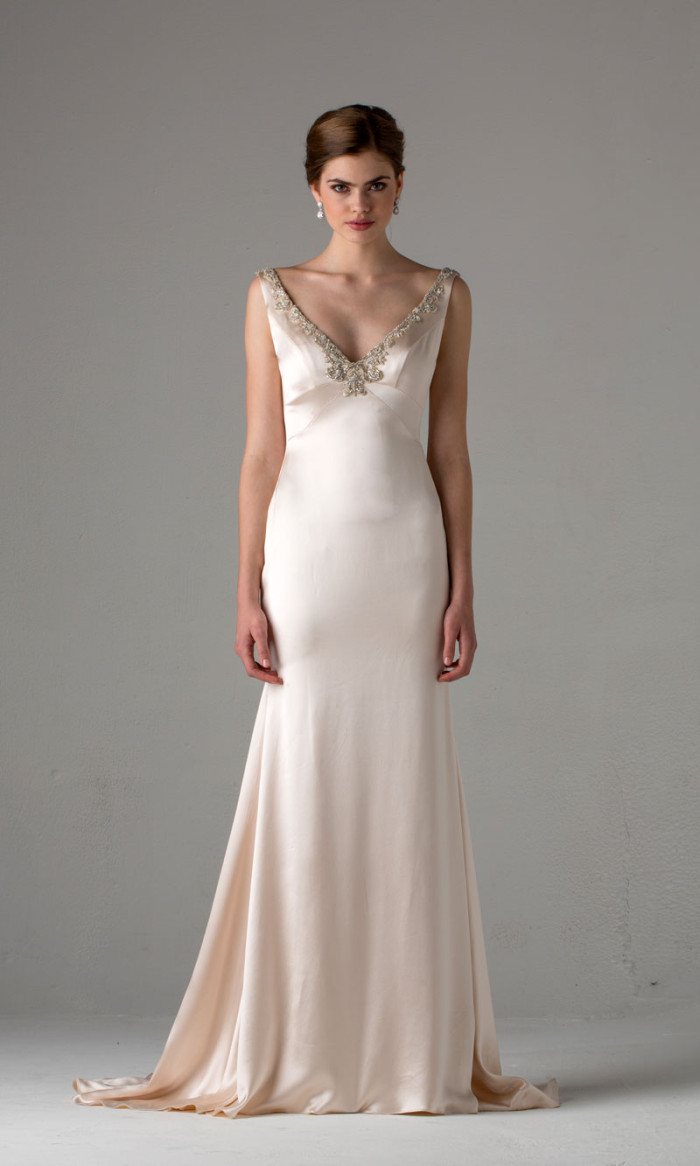 Wedding Dresses From Anne Barge Fall 2015
