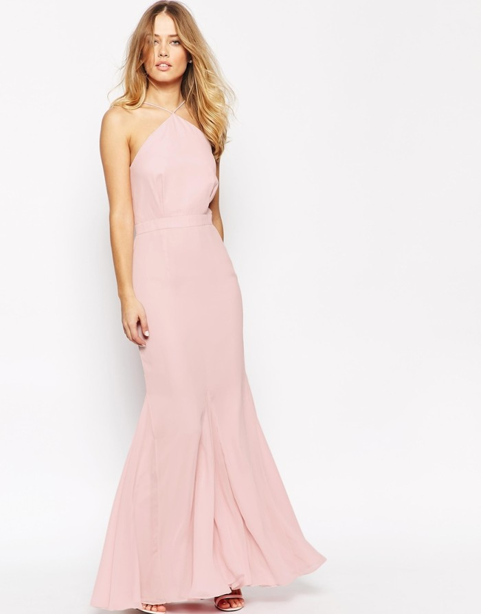 Pink maxi dress for Dresses to wear in a wedding