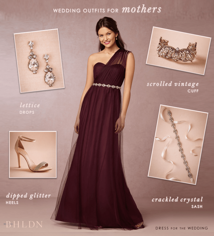 051621893b7 Burgundy Gown and Accessories for the Mother of the Bride or Mother of the  Groom