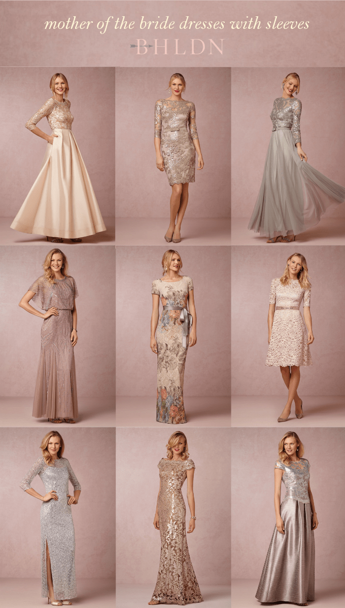 Neutral Mother of Bride Dresses