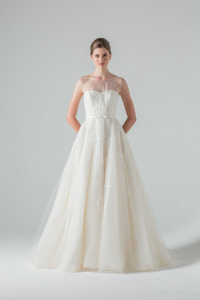 Promenade a bridal gown by Anne Barge