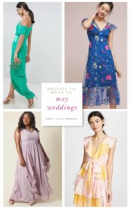 What to Wear to a May Wedding