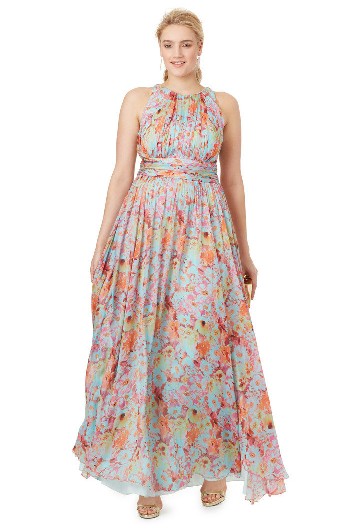 Maxi dress for a beach wedding for the mother of the bride or wedding guest