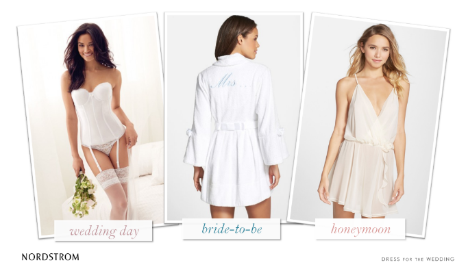 Bridal Lingerie for Your Wedding and Honeymoon from Nordstrom