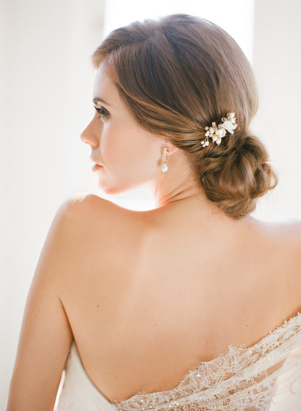 Mignon Bridal Comb by Percy Handmade on Etsy Photography by Jemma Keech