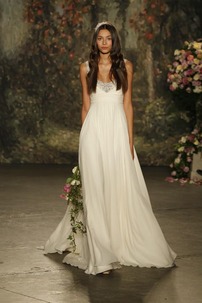 Goddess wedding dress | Jenny Packham 2016 Bridal Collection