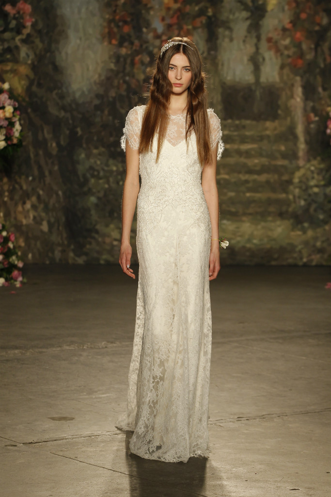 Vintage look wedding gown by Jenny Packham