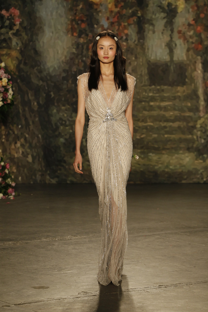 Beaded Jenny Packham Bridal Gown for 2016