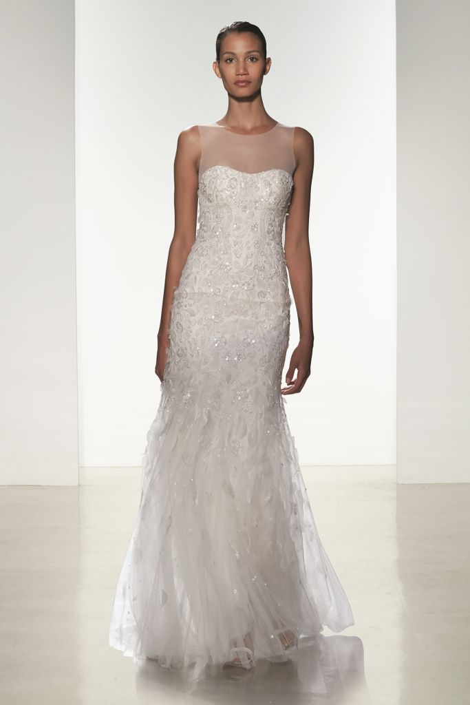 Couture wedding dress by Amsale