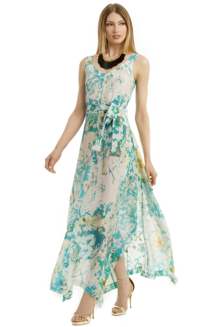 Floral Beach Wedding Mother of the Bride Dresses