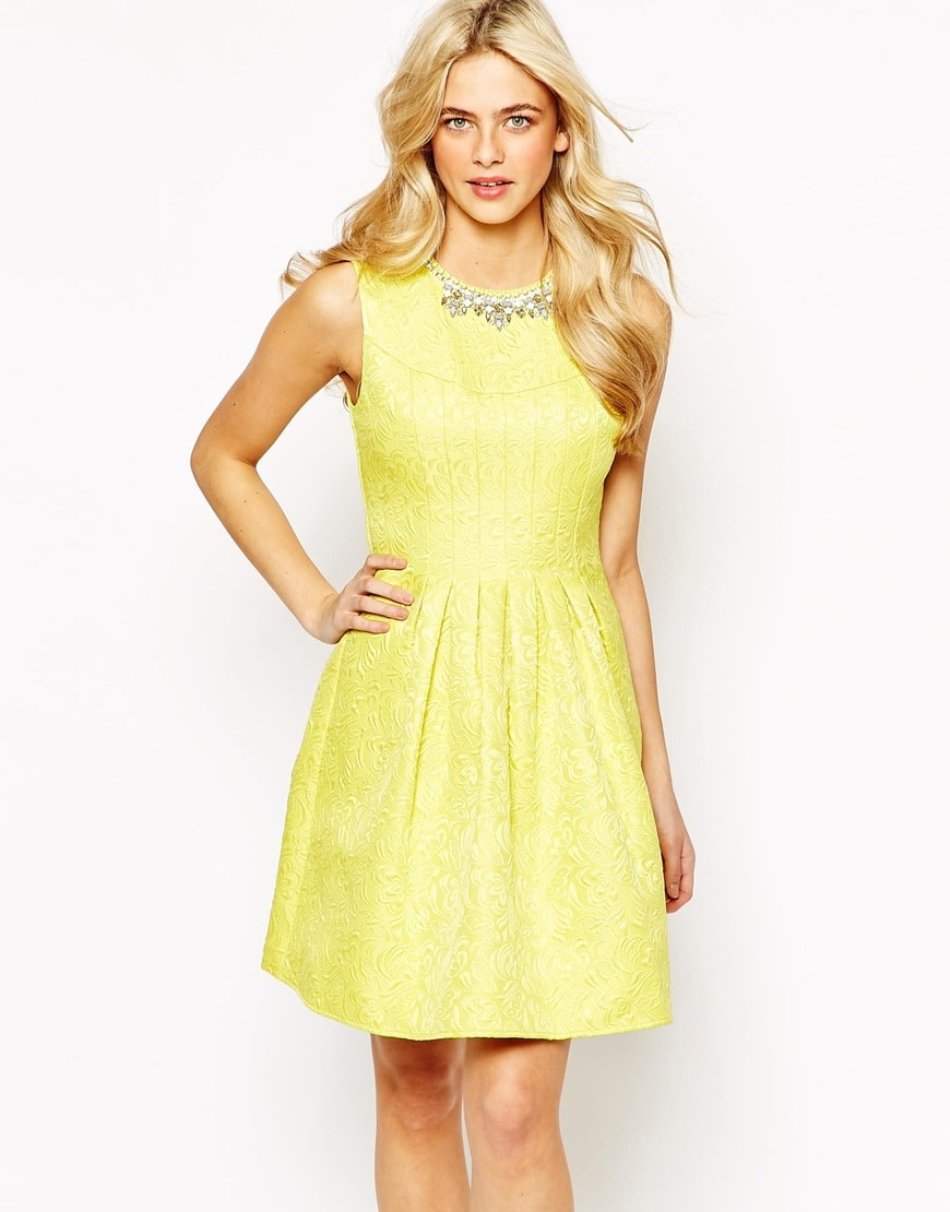 Yellow Dresses For A Wedding 116