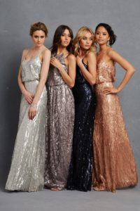 Romantic Dresses and Sequined Gowns for Weddings from Donna Morgan