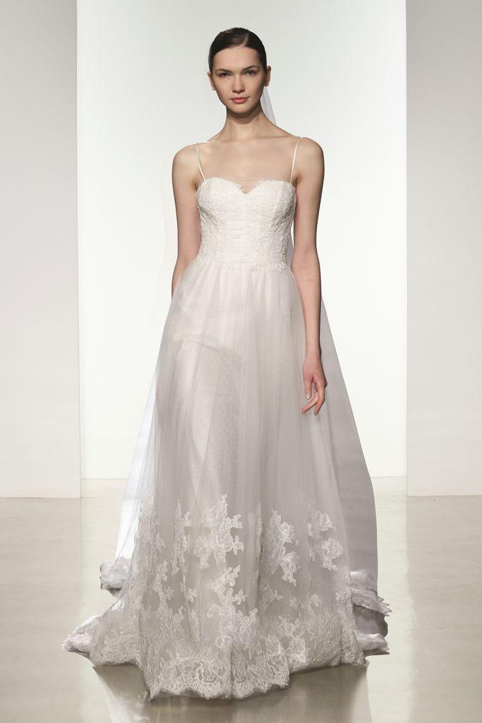 Tulle ballgown wedding dress |Edith by Christos