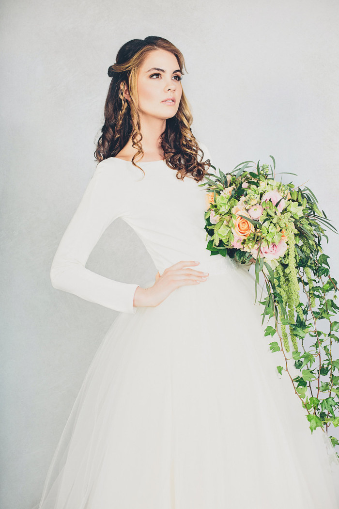 Elizabeth Stuart Rosemary Bridal Gown | Photography by Jessica Withey
