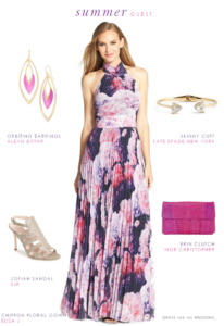 Wedding Guest Outfit for a Late Summer Wedding