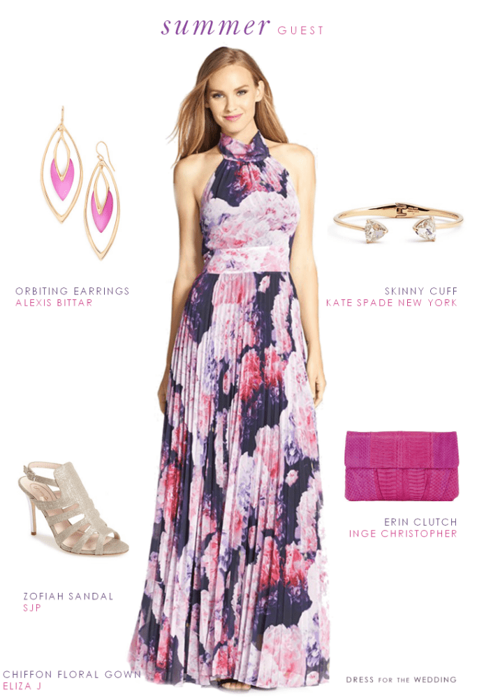 Wedding guest outfit for a late summer wedding for Dress for a summer wedding