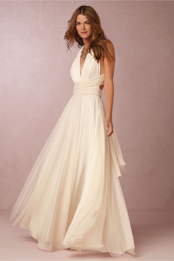 Beautiful wedding dresses for beach weddings for Wedding dresses for bridesmaid