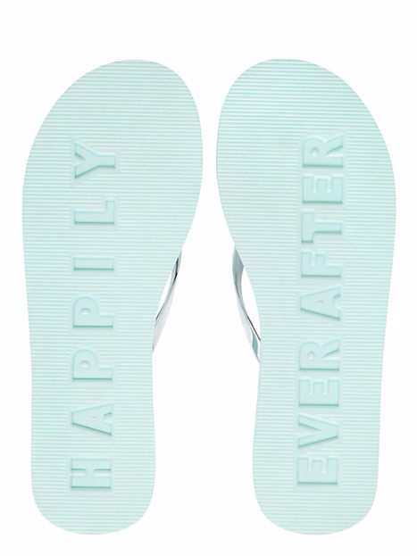 'happily ever after' kate spade wedding flip flops