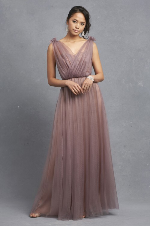 Gorgeous mesh bridesmaid dress 'Emmy' by Donna Morgan