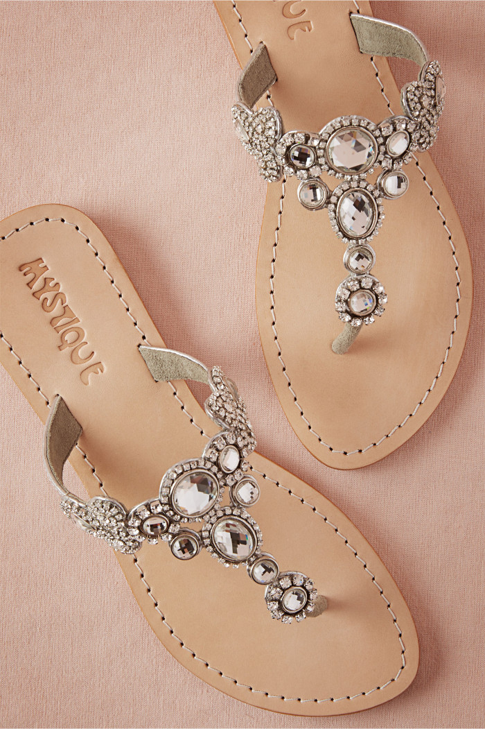 Sandals for beach weddings for Flat dress sandals for weddings