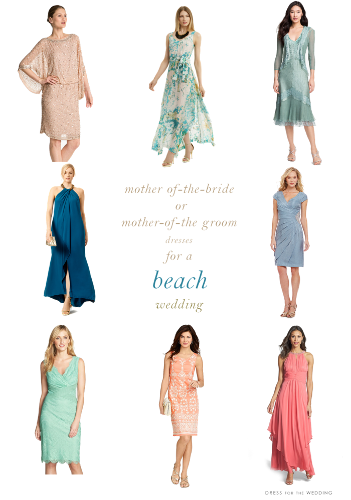 mother of the bride dresses for beach weddings