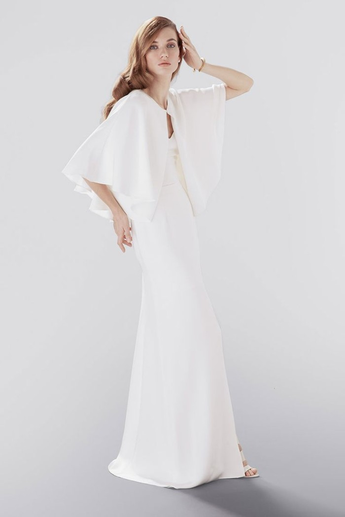 Wedding cape | Modern bridal separates by Aideux