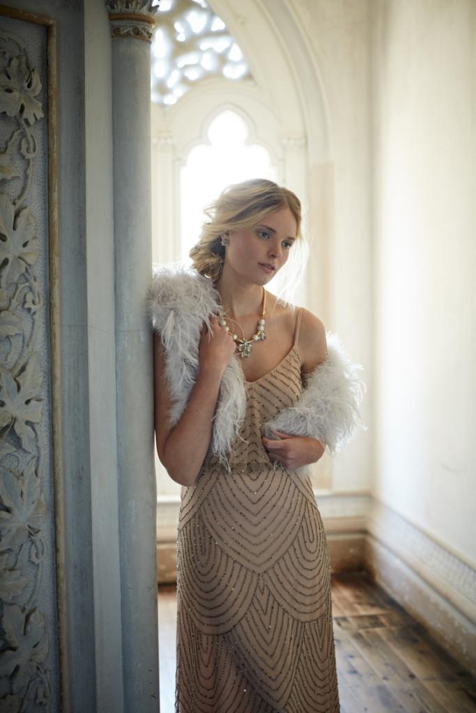 Beaded gown | Obreana Dress from BHLDN