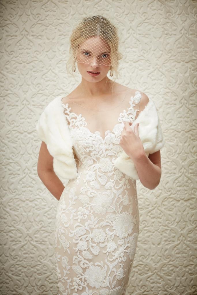 Short lace wedding dress   Renata Sheath Dress from BHLDN Fall 2015