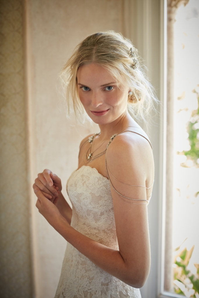 Shoulder chain for a bride | BHLDN