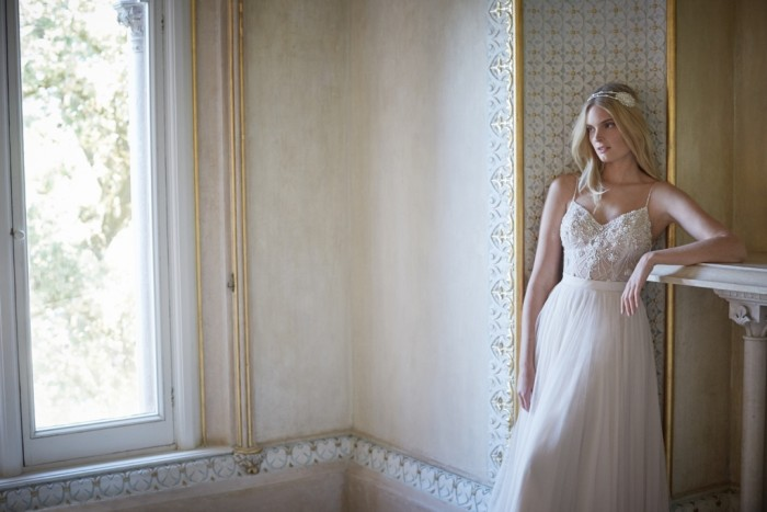 Tulle skirt and top - bridal separates from BHLDN