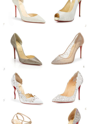 Louboutin shoes for weddings