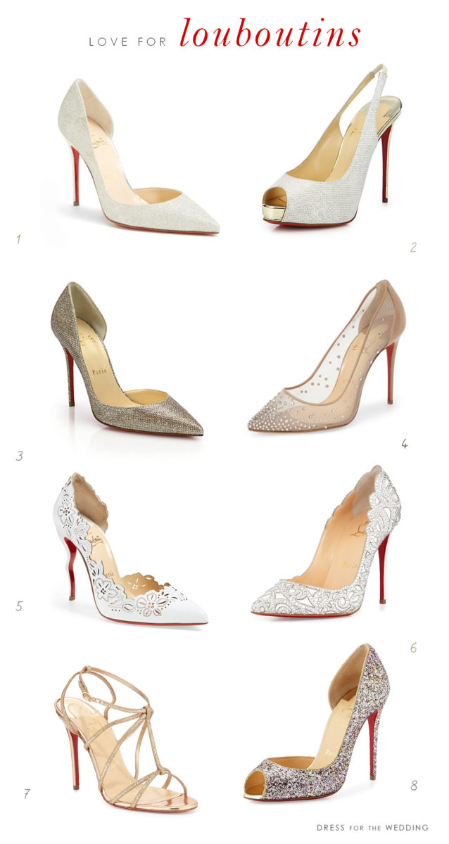 brand new e9637 b21ed Designer Shoes for Weddings from Christian Louboutin