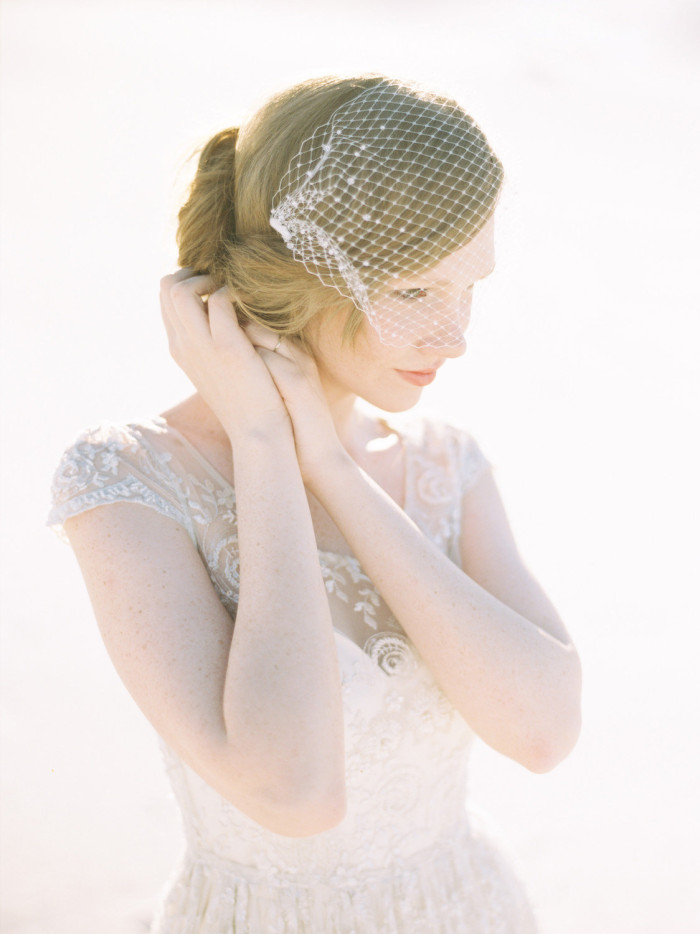 Birdcage Veil from Sibo Designs on Etsy
