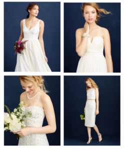 new wedding dresses from jcrew for fall 2015