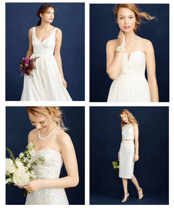 New J Crew Wedding Dresses And Bridesmaid Dresses For Fall Winter