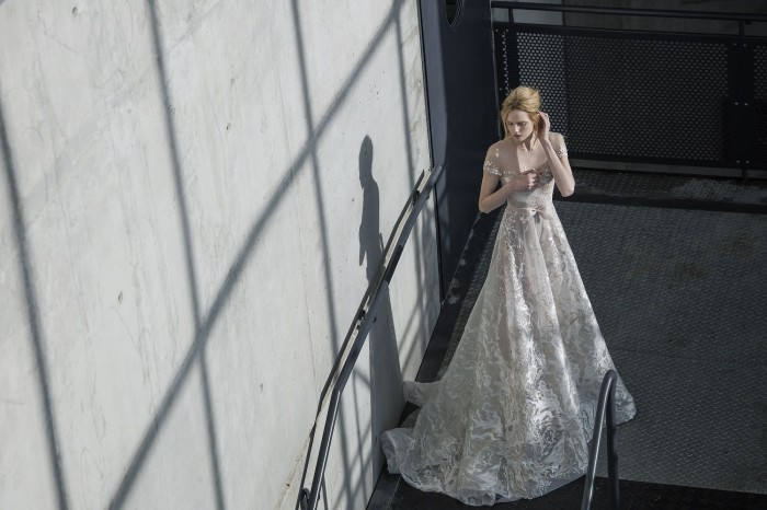 Sienna, couture wedding gowns by Mira Zwillinger