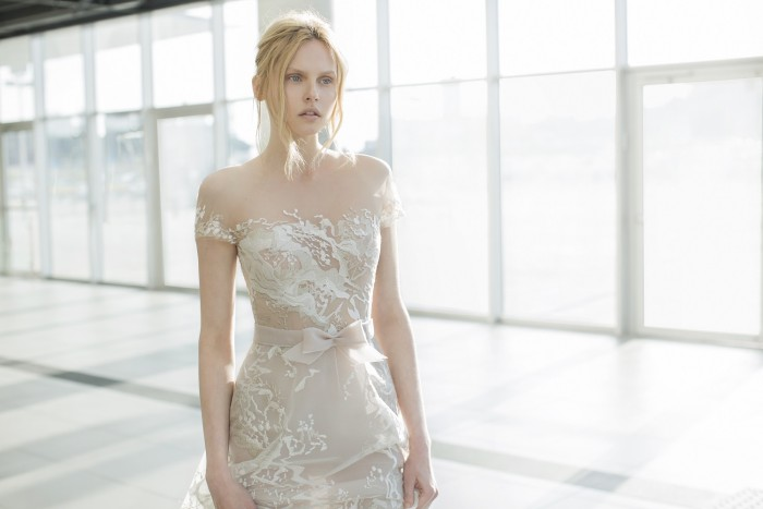 Sienna, a wedding gown by Mira Zwillinger | Photography by Alexander Lipkin
