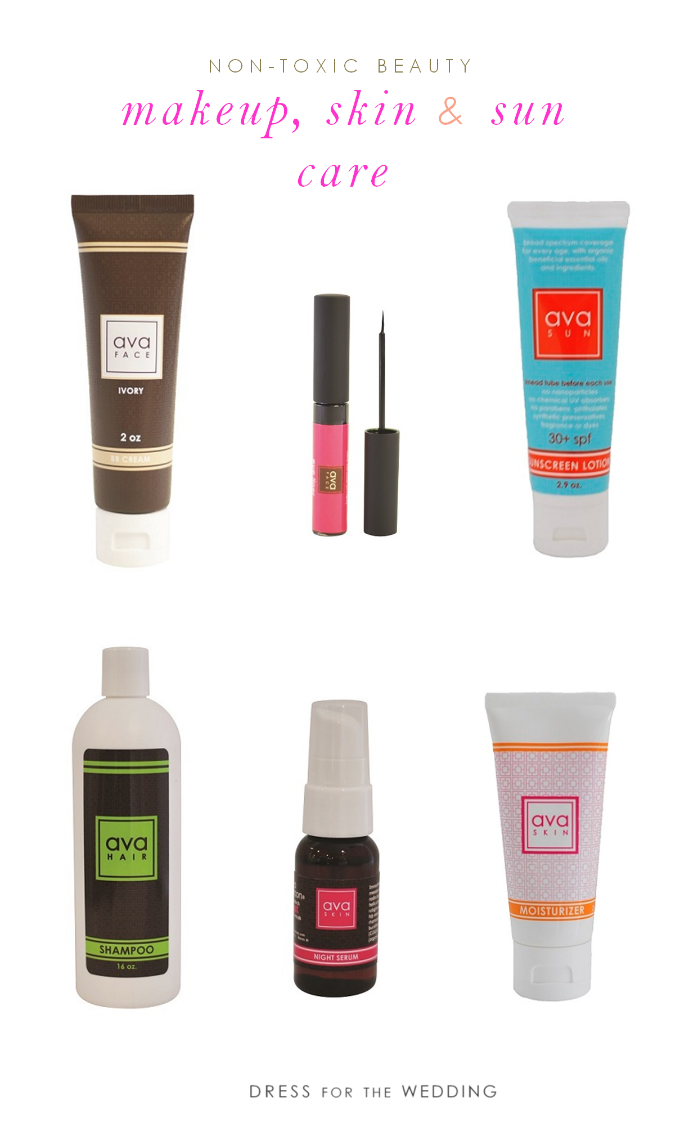 non toxic skin products