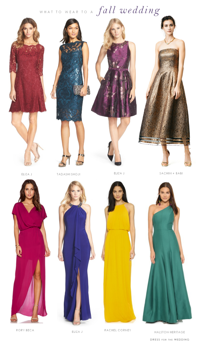 What to Wear to a Fall 2015 Wedding!
