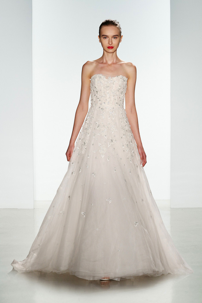 Amsale Wedding Dresses for Fall 2016 | Ashton