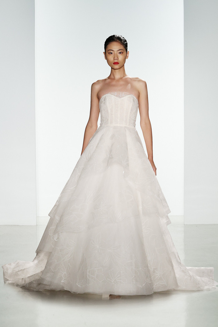 Quinton | Corseted ball gown by Amsale Wedding Dresses for 2016