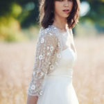 pretty bridal jacket from BHLDN