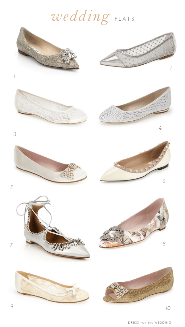 Flat Wedding Shoes | Flats for Weddings