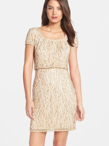 Short sequin dresses